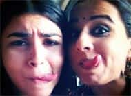 Why is Vidya Balan making faces?