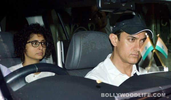 Jiah Khan suicide: Aamir Khan, Kiran Rao visit her family to offer condolences – view pics
