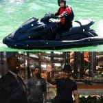 Aamir Khan rides water scooter in Dhoom:3 – View pic!
