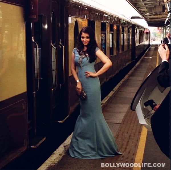Aishwarya Rai Bachchan boards Orient-Express!