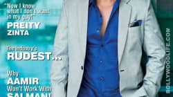Ajay Devgn is his dashing best on Cineblitz cover!