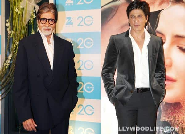 Amitabh Bachchan says talks are on for movie with Shahrukh Khan