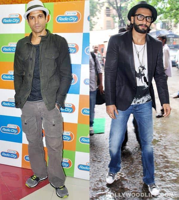 Farhan Akhtar or Ranveer Singh – who looks better in a hat?