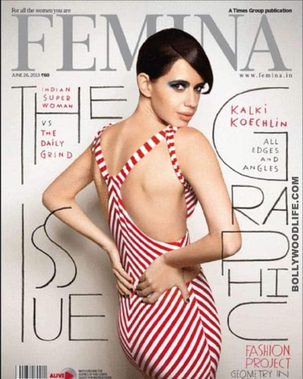 Kalki Koechlin on the cover of Femina: Super hot and saucy!
