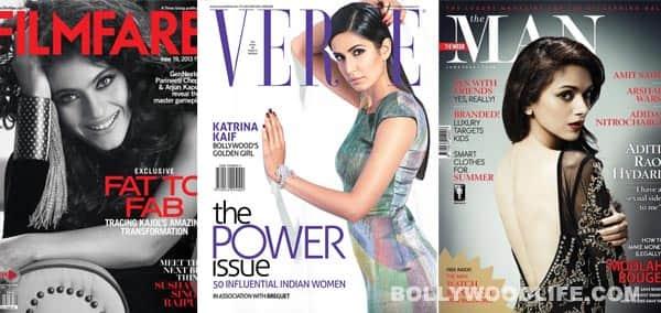 June covers: Kajol, Katrina Kaif, Aditi Rao Hydari – it's raining sexy women!