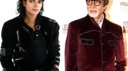 Michael Jackson and Amitabh Bachchcan