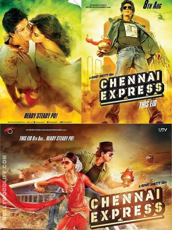 Chennai Express new posters: Deepika Padukone gets into a Bharatanatyamcostume!