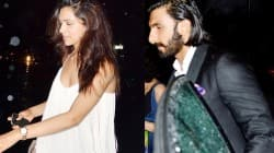 Deepika Padukone and Ranveer Singh go partying!