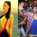 Rambo Rajkumar stills: Sonakshi Sinha goes desi while Shahid Kapoor looks like a South Indian hero!