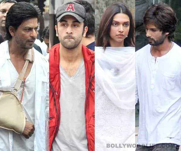 Priyanka Chopra's father's funeral: Shahrukh Khan, Deepika Padukone, Shahid Kapoor, Ranbir Kapoor, Ranveer Singh attend – view pics