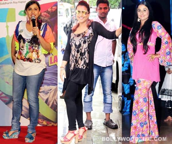 Vidya Balan's Ghanchakkar style: Loud and tacky!