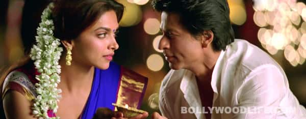 Chennai Express song Titli: Deepika Padukone and Shahrukh Khan get mushy!