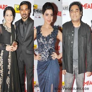 South Filmfare Awards 2012 winners' list: Dhanush, Samantha win big!
