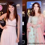 What did Anushka Sharma do when she saw Madhuri Dixit-Nene?
