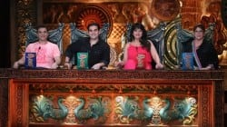 Helen, Sohail and Arbaaz Khan on Comedy Circus Ke Mahabali