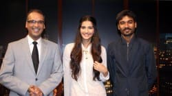 Sonam Kapoor, Dhanush and Komal Nahta