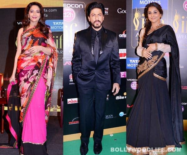 IIFA 2013: Shahrukh Khan, Madhuri Dixit, Vidya Balan…who made a splash on the green carpet?