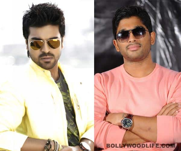 Ram Charan Teja and Allu Arjun