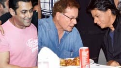 Salman Khan, Salim Khan and Shahrukh Khan