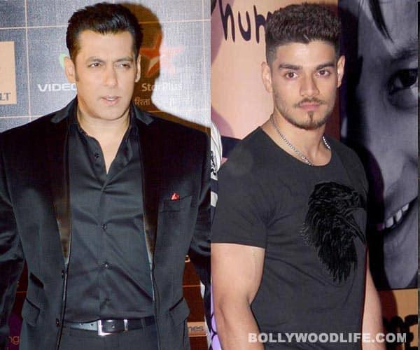 Salman Khan and Suraj Pancholi