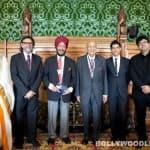 Sonam Kapoor, Farhan Akhtar and Milkha Singh attend London premiere of Bhaag Milkha Bhaag