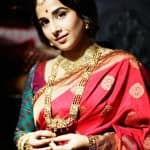 Vidya Balan looks amazingly desi, doesn't she?