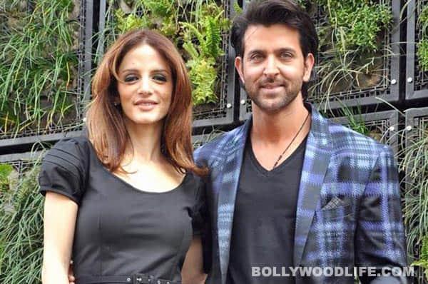 Sussanne Roshan and Hrithik Roshan