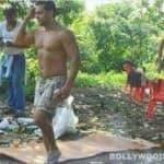 Salman Khan spotted shirtless with Iulia Vantur!