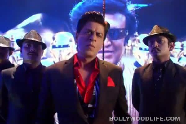 Chennai Express song Lungi dance: Shahrukh Khan and Deepika Padukone's tribute to Rajinikanth