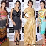 Lakme Fashion Week 2013: Karisma Kapoor, Genelia D'Souza, Aditi Rao Hydari, Pallavi Sharda - who is the most stylishly dressed lady of the lot?