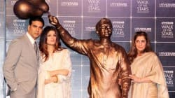 Akshay Kumar, Dimple Kapadia unveil Rajesh Khanna's statue