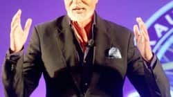 Amitabh Bachchan at KBC Press Launch