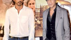 Arjun Rampal and Shahrukh Khan
