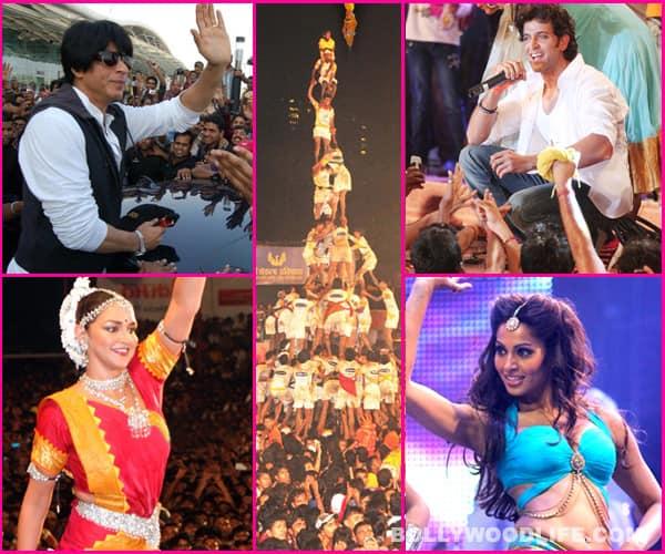 Janmashtami 2013 special: Shahrukh Khan, Hrithik Roshan, Bipasha Basu: Why do celebs visit Dahi Handis – for moolah or masti?