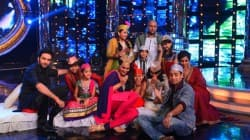 Sonakshi Sinha and Imran Khan on Indian Idol Junior