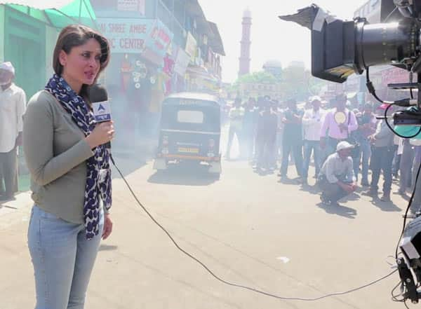 Is Kareena Kapoor a convincing reporter?: Watch video!