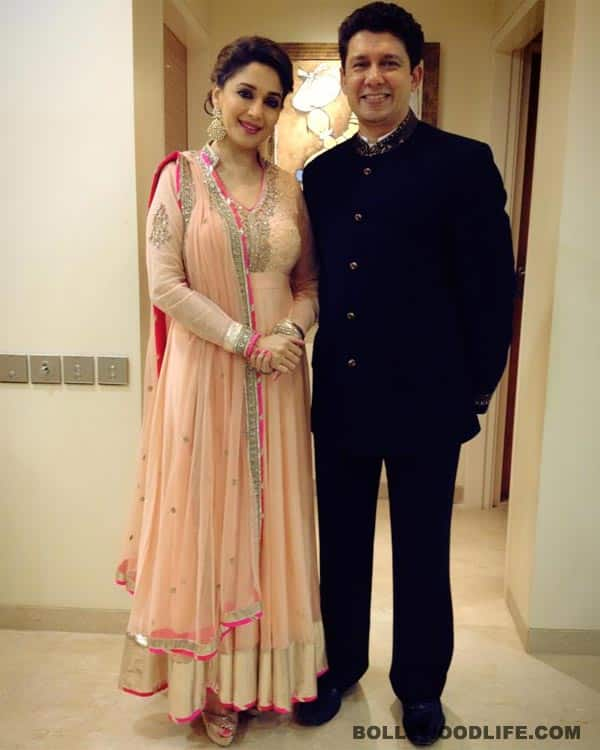 What makes Madhuri Dixit-Nene's look work in this picture?