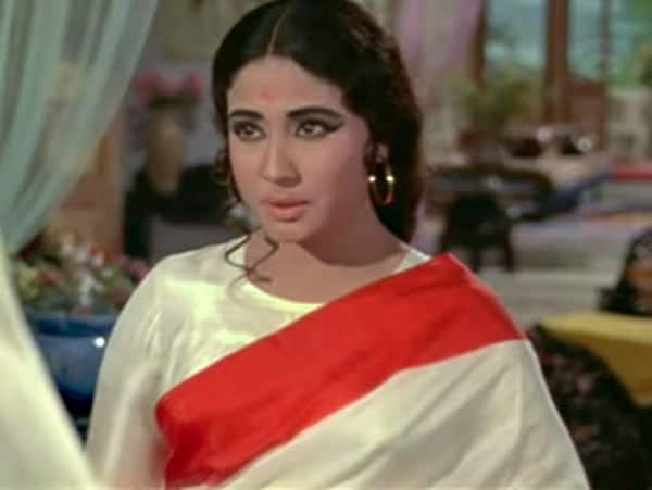 Why is Meena Kumari referring her brother as Moon?