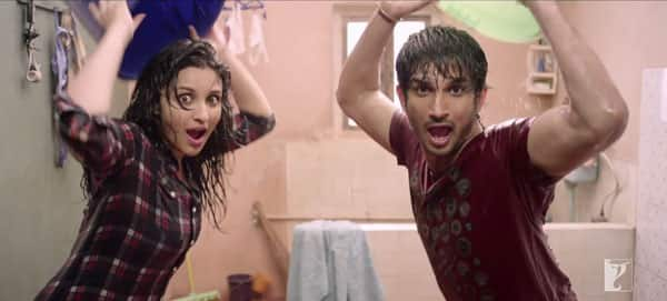Parineeti Chopra and Sushant Singh Rajput shoot a new song for Shuddh Desi Romance