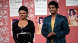 Rakhi Sawant and Helen on Comedy Circus Ke Mahabali