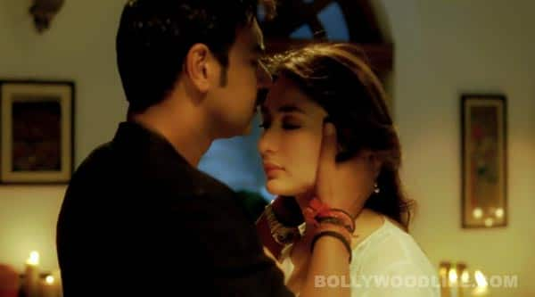 Why did Kareena Kapoor refuse to kiss Ajay Devgn?