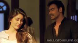 Kareena Kapoor and Ajay Devgn in Raske Bhare More Naina