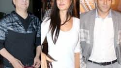 Sajid Nadiadwala, Katrina Kaif and Salman Khan