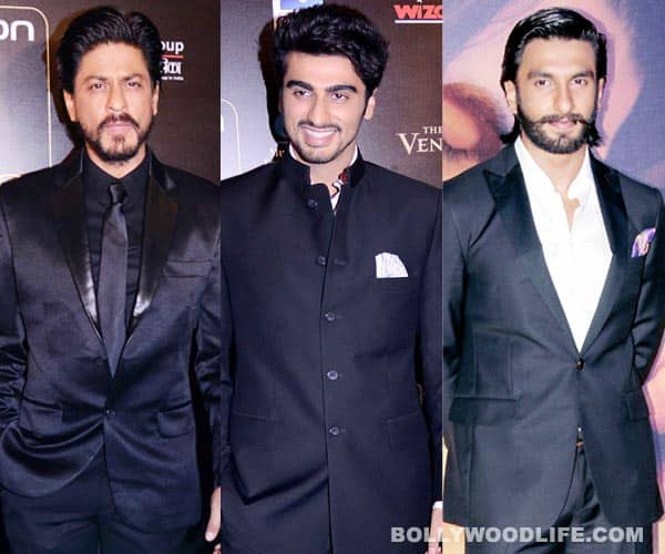 Shahrukh Khan, Ranveer Singh and Arjun Kapoor indulge in 'boy' talk!