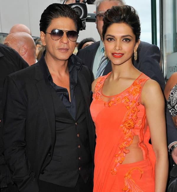 Shahrukh Khan and Deepika Padukone at Chennai Express promotion in London: pics and video!