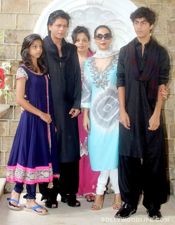 Shahrukh Khan's Eid party: Aishwarya Rai Bachchan, Madhuri Dixit, Hrithik Roshan, Dilip Kumar attend
