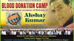Akshay Kumar's fans celebrate his birthday the Boss way