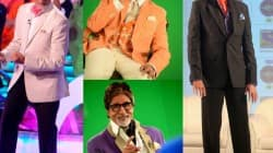 Amitabh Bachchan's look in KBC 7
