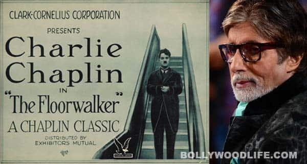 Mumbai Film Festival: Amitabh Bachchan restores Charlie Chaplin film The Floor Walker