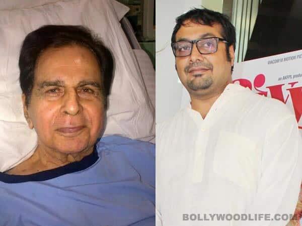Anurag Kashyap tweets about Dilip Kumar passing away